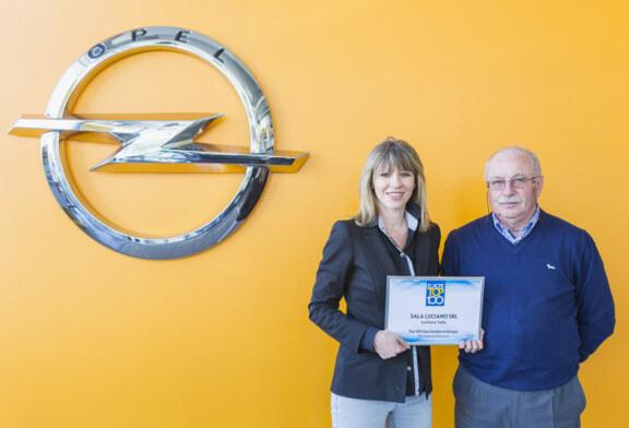 Opel Sala Luciano premiata ai top 100 Dealers European